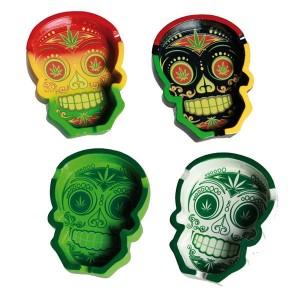 Posacenere Cannabis Skull