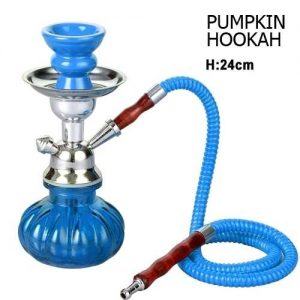 MINI PUMPKIN HOOKAH BLUE