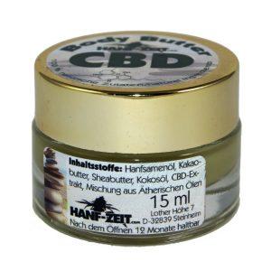 Burro CBD massaggi 15ml
