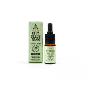 CBD E-LIQUID CITY SEEDS BANK 10ML 100MG